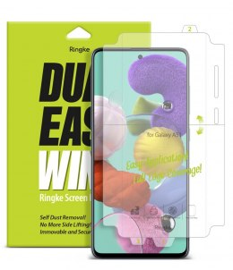 Folia na ekran i boki Ringke Dual Easy Wing 2x do Samsung Galaxy A51