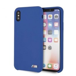 Etui hardcase BMW do iPhone X / Xs niebieski/navy
