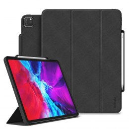 Etui na tablet Smart Sleep z podstawką Ringke Smart Case do iPad Pro 12.9'' 2020 czarny