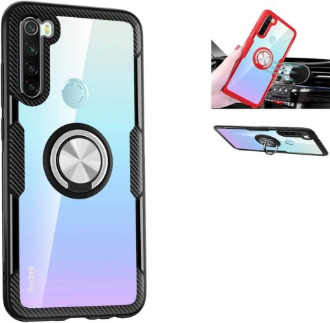 Pancerne Etui plus Ring do Xiaomi Redmi Note 8T czarny