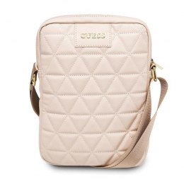 "Guess Torba 10"" różowa / pink Quilted Tablet Bag"