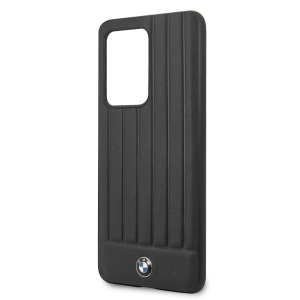 Etui hardcase BMW do Samsung Galaxy S20 Ultra czarny/black Signature