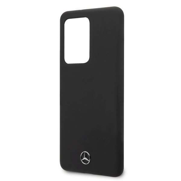 Etui Mercedes do Samsung Galaxy S20 Ultra hard case czarny/black Silicone Line