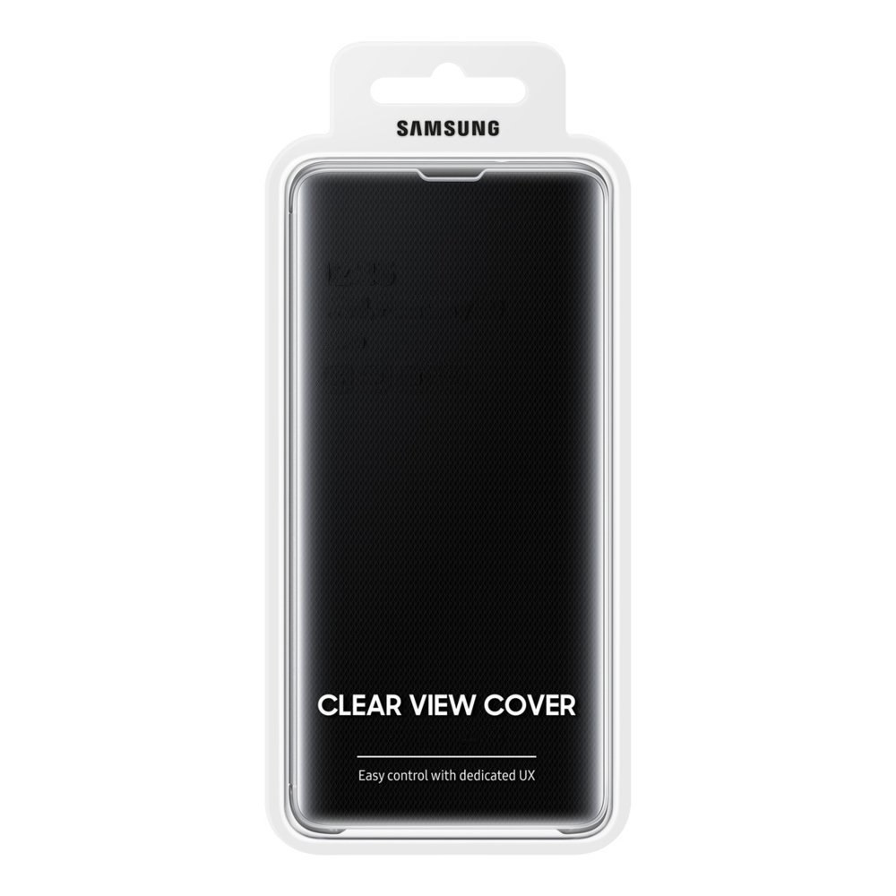 Etui z inteligentną klapką Samsung Clear View Standing Cover do Samsung Galaxy Note 20 Ultra czarny