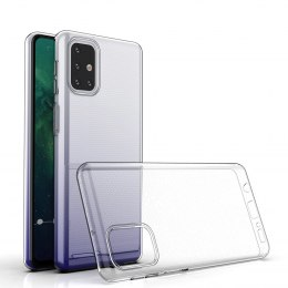 Etui bezbarwne 0.5mm Ultra Clear do Samsung Galaxy M31s