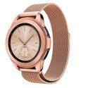 Bransoleta Milaneseband do Samsung Galaxy Watch 42mm Blush Gold