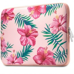 "Etui Tech-Protect Floral do Laptopa 13""- 14"" różowy"