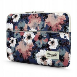"Etui Pokrowiec do Laptopa 13-14"" Canvaslife Sleeve Blue Camellia"