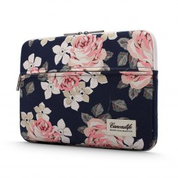 "Etui Pokrowiec do Laptopa 13-14"" Canvaslife Sleeve Navy Rose"