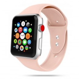 Gumowy pasek Iconband do Apple Watch 2 / 3 / 4 / 5 / 6 / SE (38/40MM) pink sand