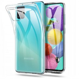Etui Flexair do Samsung Galaxy M31s bezbarwne