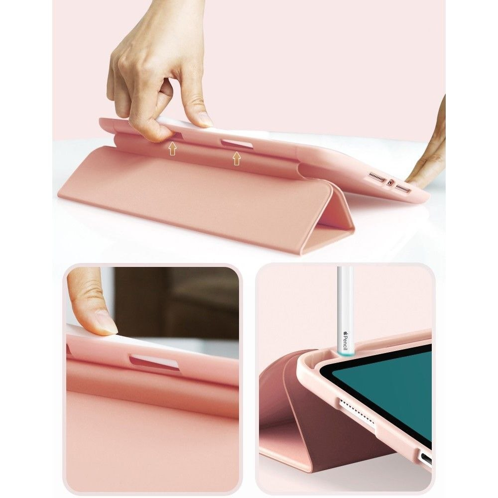 Etui Futerał SC Pen do iPad 7 / 8 (10.2) 2019 / 2020 Pink