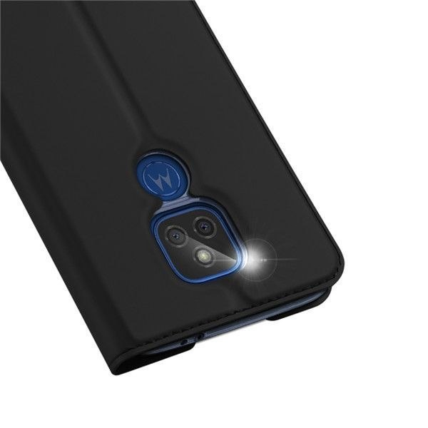 Etui Dux Ducis do Motorola Moto G9 Play / E7 Plus czarny