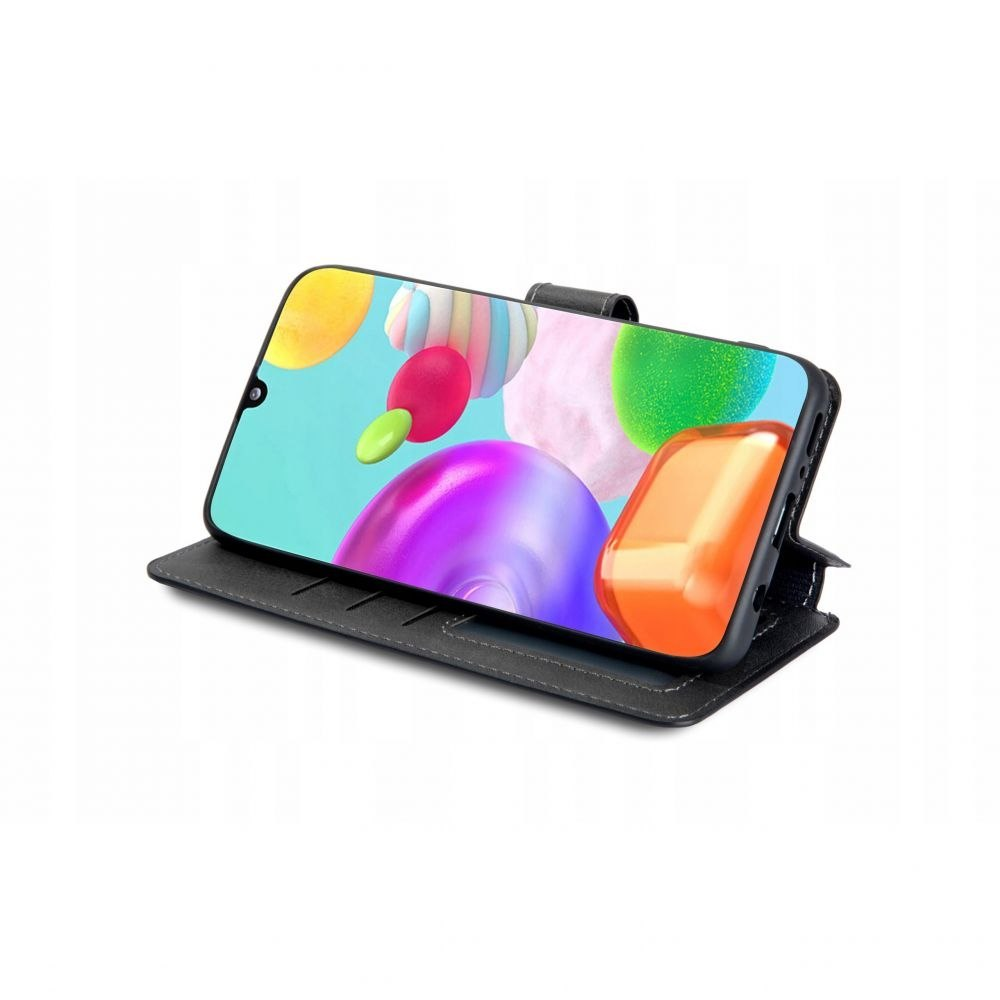 Etui Tech-protect portfel do Samsung Galaxy M51 Czarny