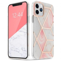 "Etui Marble ""2"" do iPhone 12 Mini Pink"