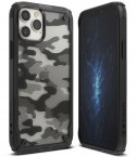 Etui Ringke Fusion X do iPhone 12 / 12 Pro Camo Black
