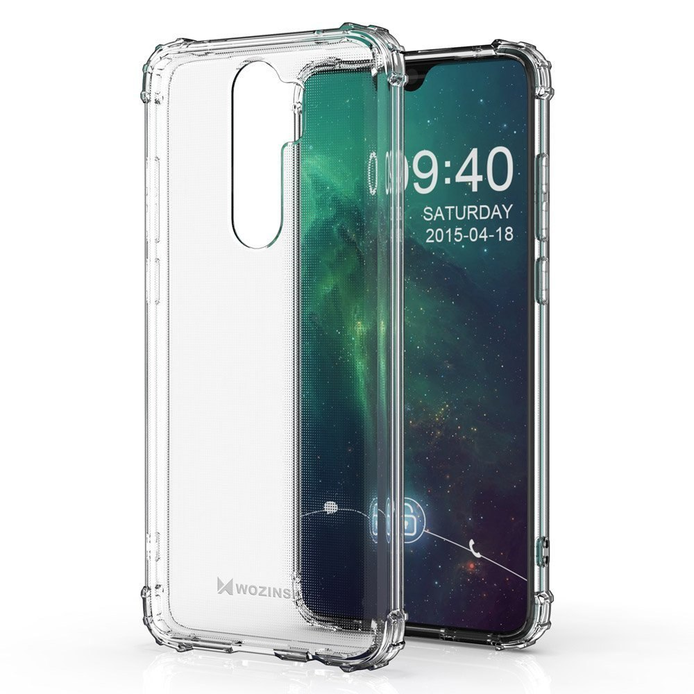 Pancerne etui Anti Shock + szkło do Xiaomi Redmi 9
