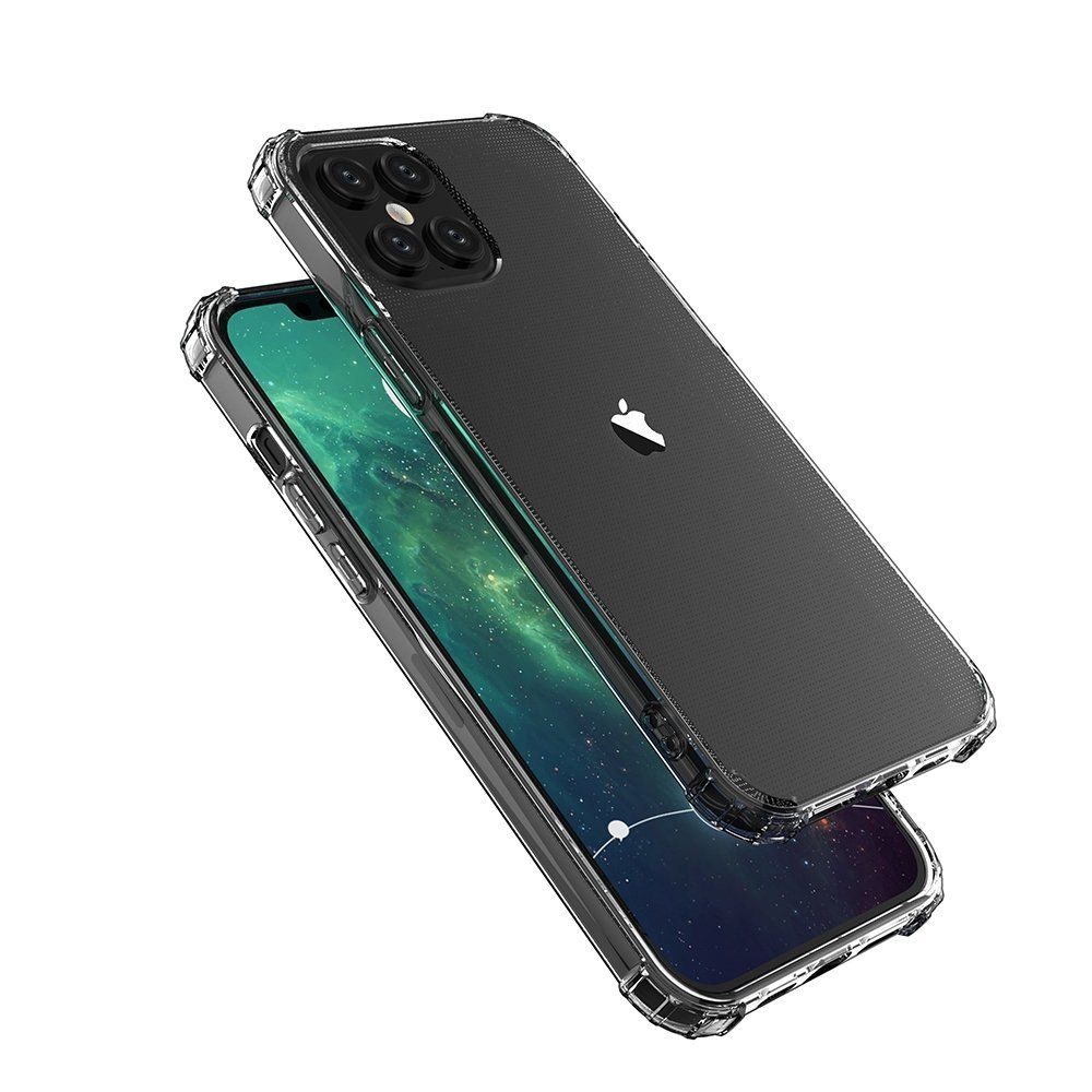 Pancerne etui A-Shock + szkło do iPhone 12 Pro Max
