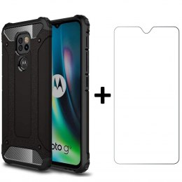 Etui Xarmor + szkło do Motorola G9 Play / E7 Plus