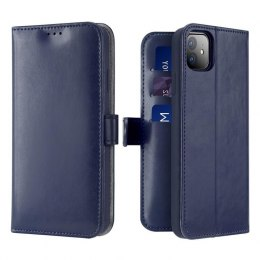 Etui Dux Ducis Kado do iPhone 12 / 12 Pro niebieski