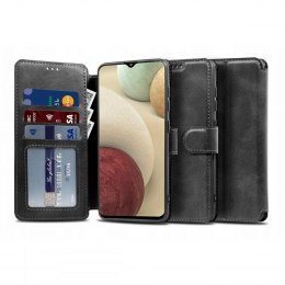Etui Tech-protect Wallet do Samsung Galaxy A12 Black