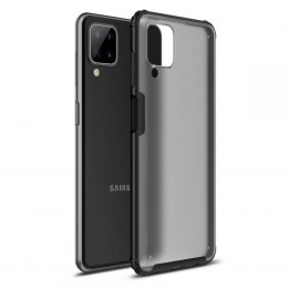 Etui Hybridshell do Samsung Galaxy A12 Frost Black