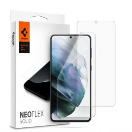 2x Folia Hydrożelowa Spigen Neo Flex Solid do Samsung Galaxy S21+ Plus