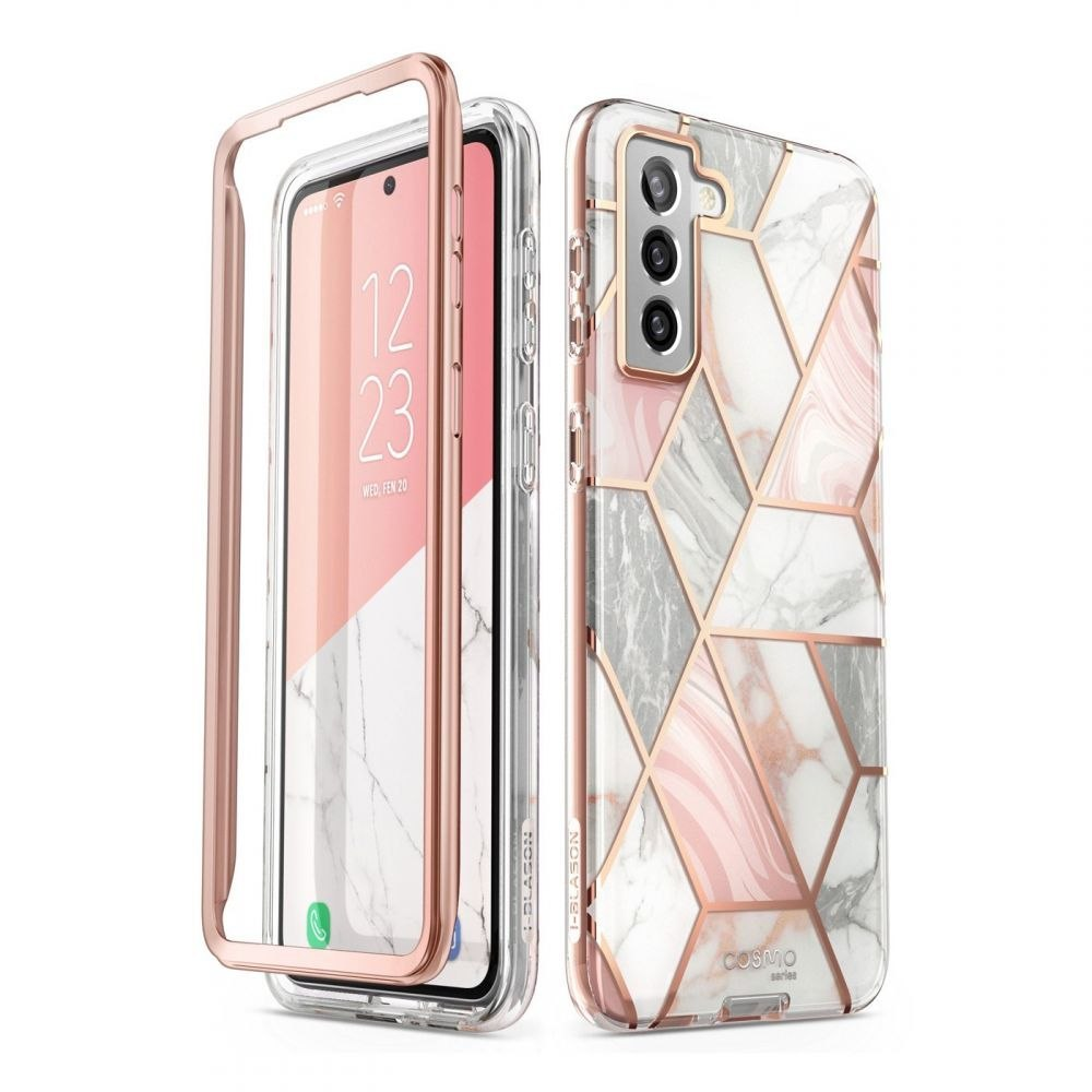 Etui Supcase Cosmo do Samsung Galaxy S21+ Plus Marble