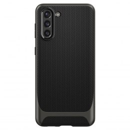 Etui Spigen Neo Hybrid do Samsung Galaxy S21+ Plus Gunmetal