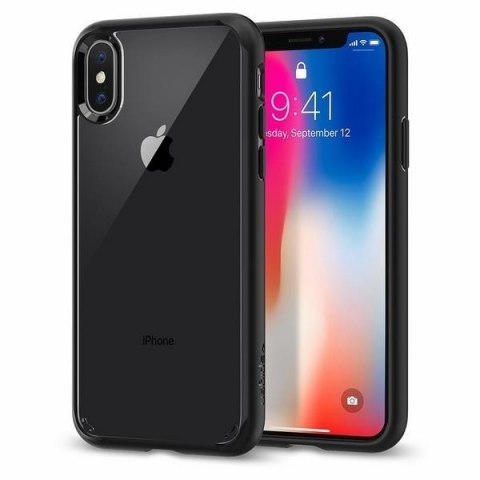 Etui Spigen Ultra Hybrid do Iphone X/Xs czarny