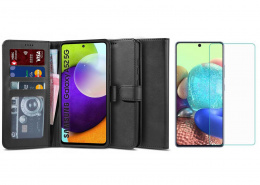 Etui Wallet 2 + szkło do Samsung Galaxy A52 5G
