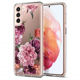 Etui Spigen Cyrill Cecile do Samsung Galaxy S21 Plus Rose Floral