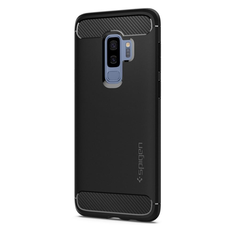 Etui Spigen Rugged Armor do Samsung Galaxy S9+ Plus Matte Black