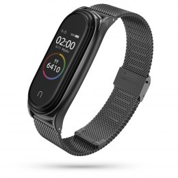 Bransoleta Milaneseband do Xiaomi Mi Band 5 / 6 Black
