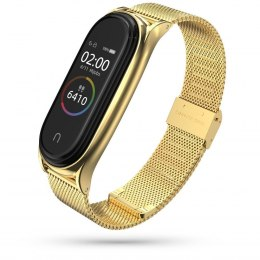 Bransoleta Milaneseband do Xiaomi Mi Band 5 / 6 Gold