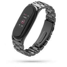 Bransoleta Stainless do Xiaomi Mi Band 5 / 6 Black