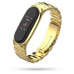 Bransoleta Stainless do Xiaomi Mi Band 5 / 6 Gold