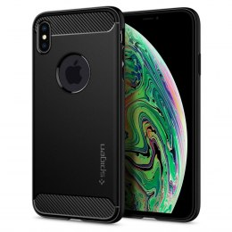 Etui Spigen Rugged Armor do Iphone Xs Max czarny