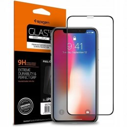 Szkło Hartowane Spigen Glass Fc do Iphone Xr Black