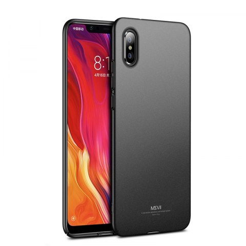 Ultracienkie etui MSVII Simple do Xiaomi Mi 8 Explorer czarny