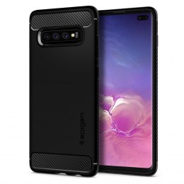 Etui Spigen Rugged Armor do Samsung Galaxy S10+ Plus czarny