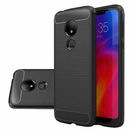 Etui Carbon Case do Motorola Moto G7 Power czarny