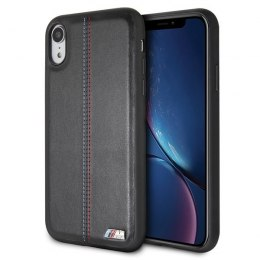 Etui hardcase BMW do iPhone Xr czarny/black