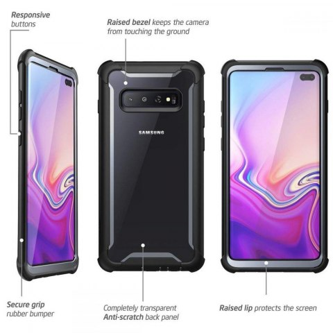 Etui Supcase Iblsn Ares do Samsung Galaxy S10+ Plus Black
