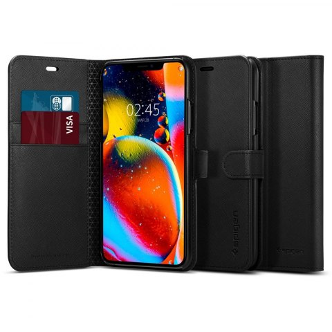Etui Spigen Wallet S do Iphone 11 Pro czarny