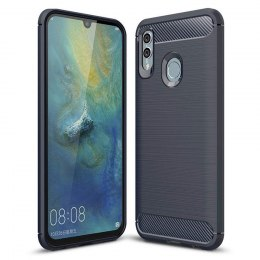 Etui Carbon Case do Huawei P Smart Plus 2019 / Honor 10 Lite niebieski