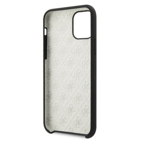 Oryginalne Etui Guess do iPhone 11 Pro czarny hard case Silicone