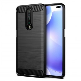 Etui Carbon Case do Xiaomi Redmi K30 czarny