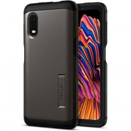Etui Spigen Tough Armor do Samsung Galaxy Xcover Pro Gunmetal
