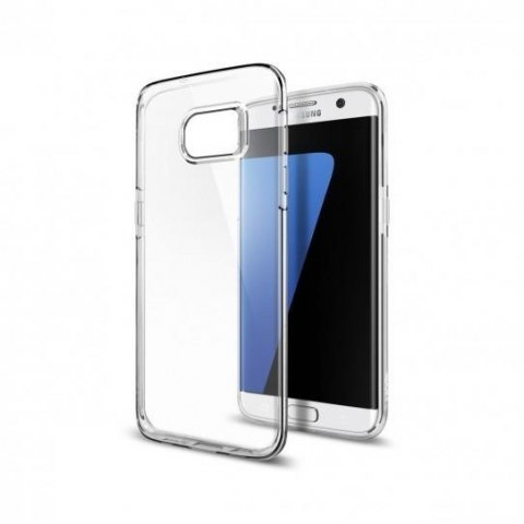 Etui Spigen Liquid Crystal do Samsung Galaxy S7 Edge bezbarwne